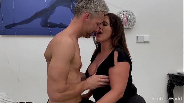 POV Blowjob Titjob and Cum Swallowing From Spanish BBW MILF - Montse Swinger