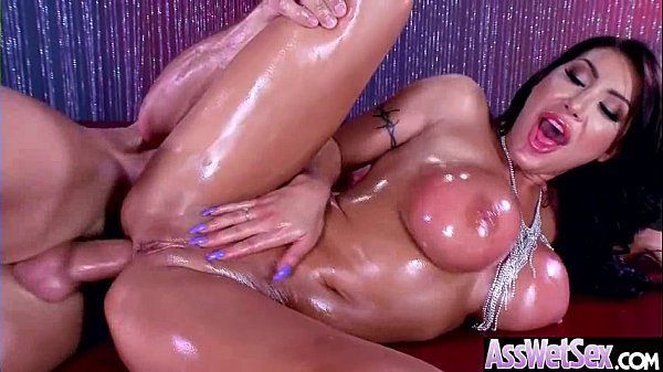 Deep Anal Sex On Tape With Big Curvy Ass Horny Girl (August Taylor) vid-11