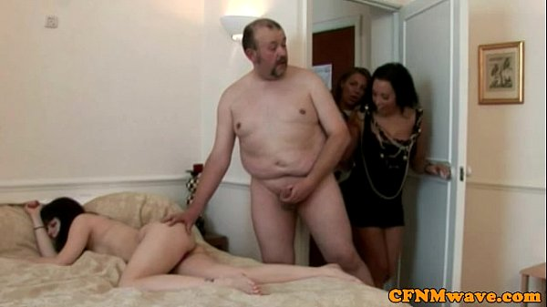 CFNM voyeurs spray her with cum (Stopjerkingoff!VisitQuickSex24.com)