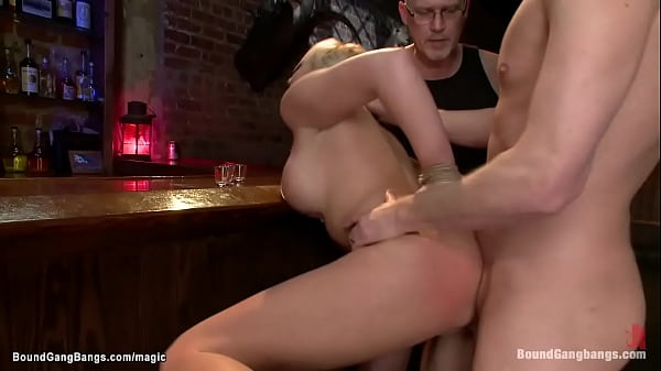 MILF lawyer group fucked in a bar Thumb