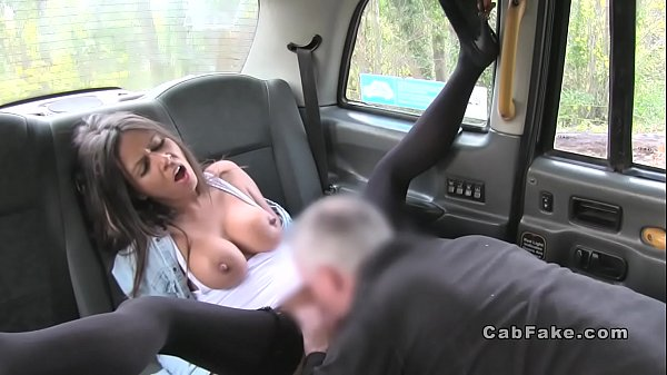 Pierced cunt beauty bangs in fake taxi Thumb