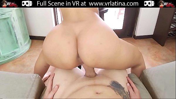 VRLatina - 1st Anal For Big Ass Pretty Latin Teen - POV VR