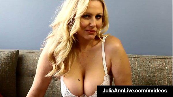 Milf Professor Ms. Julia Ann Teaches You Mastur...