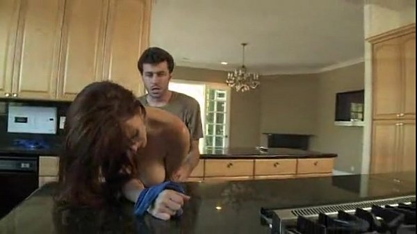 RayVeness Gets Fucked in Her Kitchen By Her Daughters BF James Deen 26 18