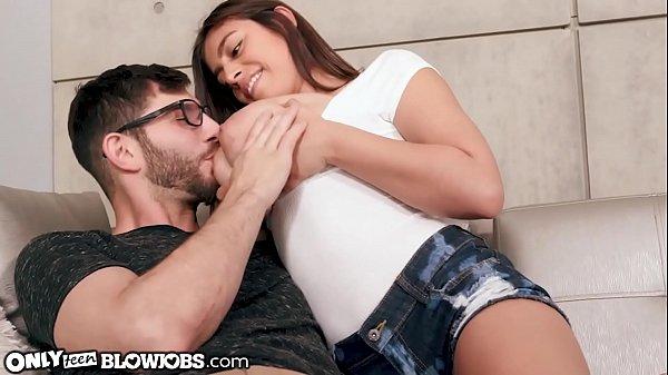 OnlyTeenBlowjobs Big Tit Latina Ella Knox Pretends 2 B Ur Mom