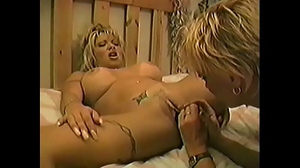 Two busty naughty blonde cougars Montana Gunn and Christgen Wolf enjoy pussy-bumping with different sex toys