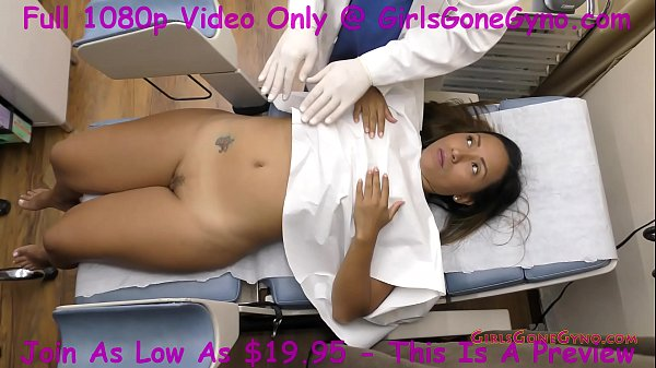 Latina Humiliated As Husband Watches Doctor Pre...