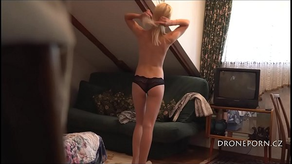 Skinny Teen Milena - Hidden spy camera