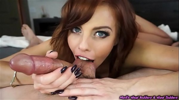 Captivating redhead pleases hard cock