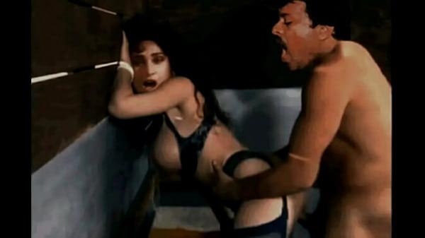 Chiranjeevi hits Meenakshi from behind