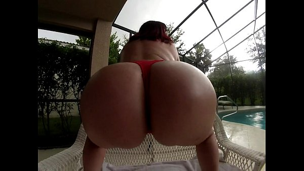 Pawg Marcy Diamond bouncing huge ass naked