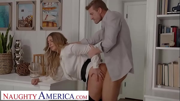 Naughty America - Kayley Gunner wants a promotion and she will fuck her boss for it