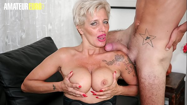 AMATEUR EURO - Big Young Cock For Amateur Italian Dirty Cougar - Shadow