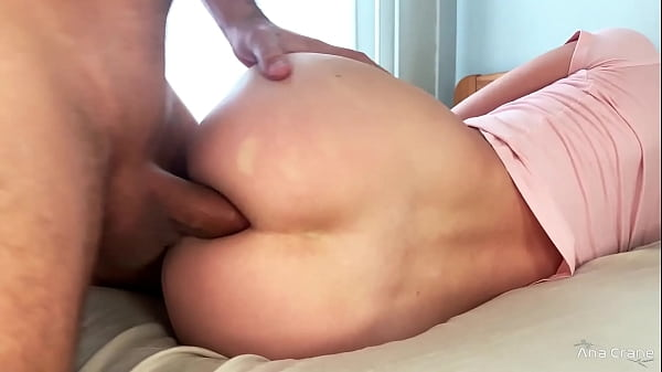 Persevering Guy Ass Fuck Slim Girl And Cum Inside