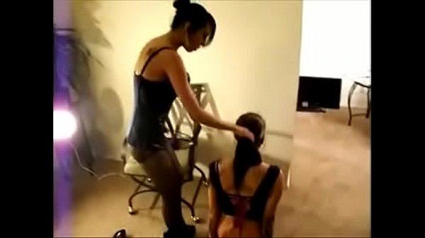 Mistress spanks and t. ts slave girl - freefetishtubes dot com