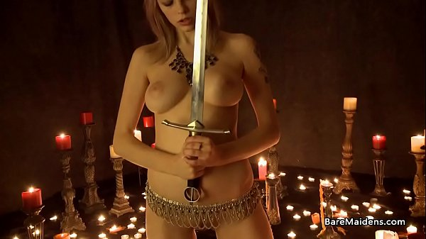 Naked witch and the sacred sword - Brea Daniels - BAREMAIDENS Thumb