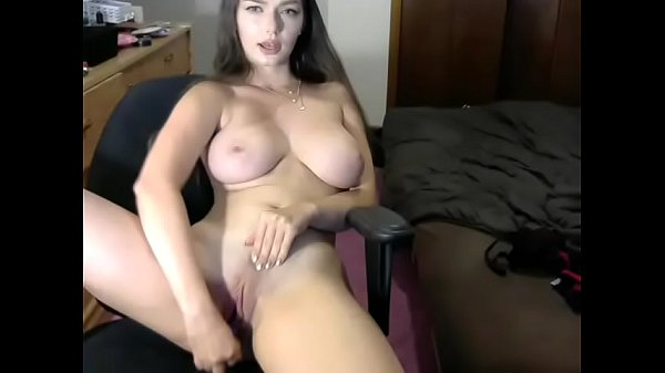 Beautiful girl rubbing pussy show
