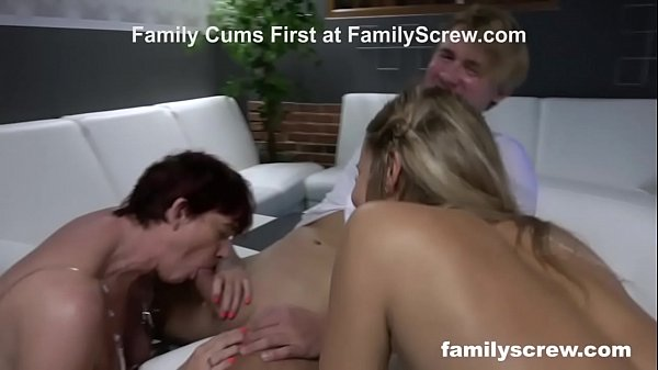 Brothers Working on Stepmom and Bratty Sis