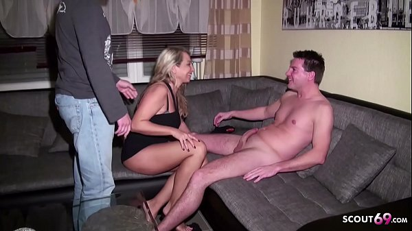 Husband caught German Wife with Young Boy and J...