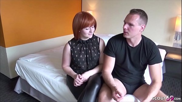 German Redhead Mom in First Time Porn and Cream...