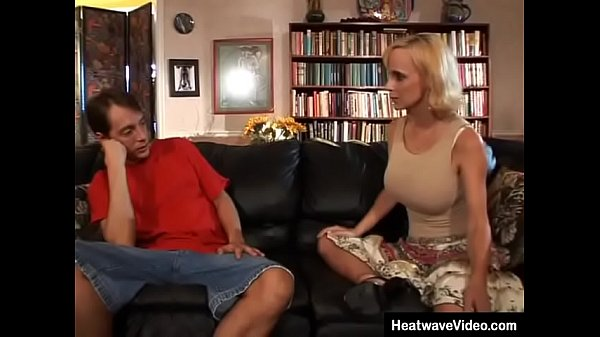 Hot married MILF asks stepson his opinion about her tits