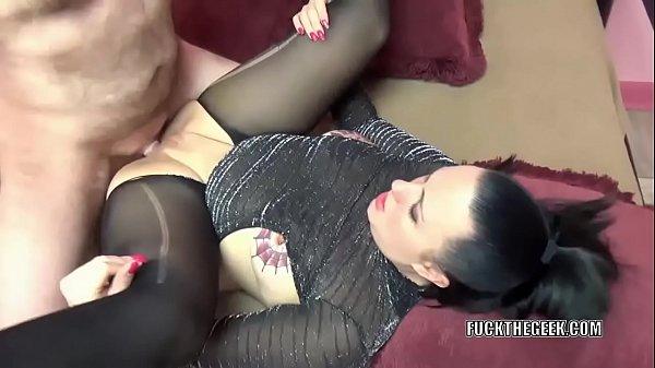 Tattooed MILF Selena Sky takes a dick in her plump twat