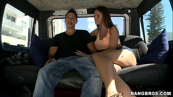 Pornstar Jennifer Dark on the Bangbus