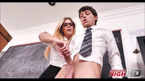 Hot Blonde MILF High School Teacher India Summer Fucks Student While Friend Records