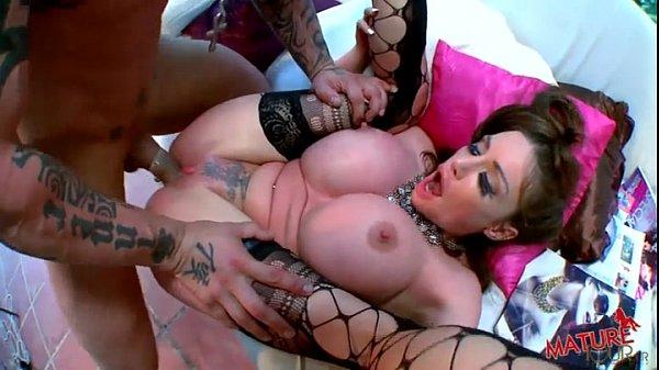 Huge Fake Tits Blowjob