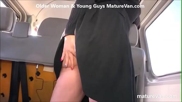 Hot granny wants young cock at MatureVan Thumb