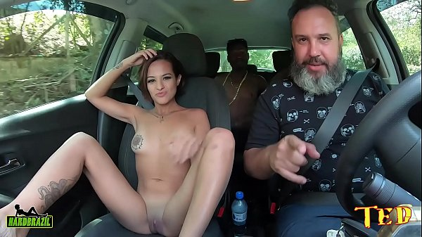 Lady Milf tells how she got into the world's largest producer and made her first DP on Ted's ride