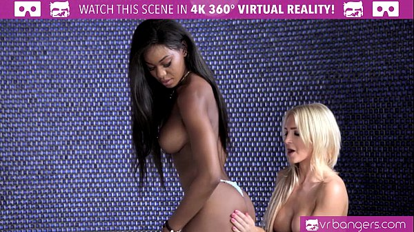 VRBangers.com Two Lesbians LICKING Each OTHER'S PUSSY before SKINNY DIPPING