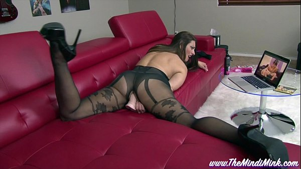 Step Mom Loves Porn MINDI MINK PANTYHOSE MASTUR...
