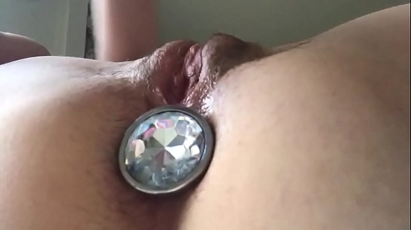 Large buttplug in my ass