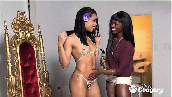 Ana Foxxx and Kira Noir Fuck On A Photoshoot