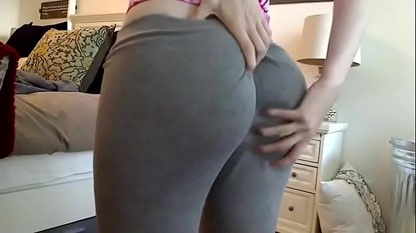 Mia Malkova White Yoga Pants