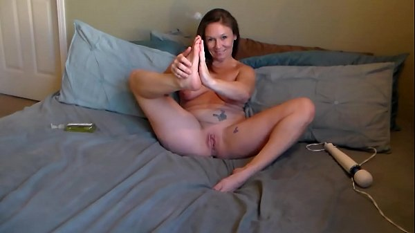 Cute MILF Dirty Talks and Squirts