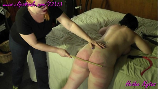 Heidee Loves Spanking Deannas Ass Trailer