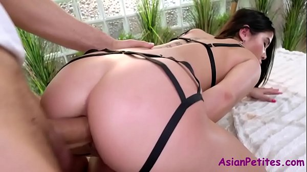 OLD white man fucks her ASIAN pussy- Lady Dee Thumb