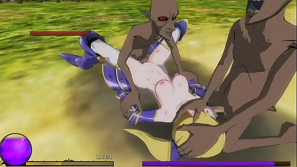 Elf Knight Gisele 3d hentai game new gameplay ....