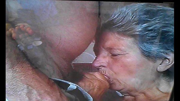Granny Suck Dick Cum