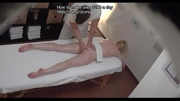 Real Massage fucking hidden camera