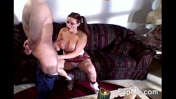 סרטי סקס Hot girl with glasses giving a handjob