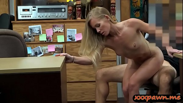 Petite blonde biatch rammed by pawn man at the ...