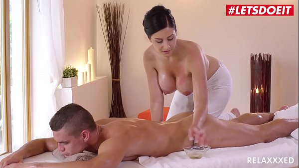 LETSDOEIT - Czech MILF Takes Young Big Cock On Hot Massage Sex (Alex Black & Max Dior)