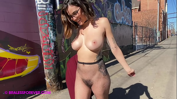 Naked walking in public