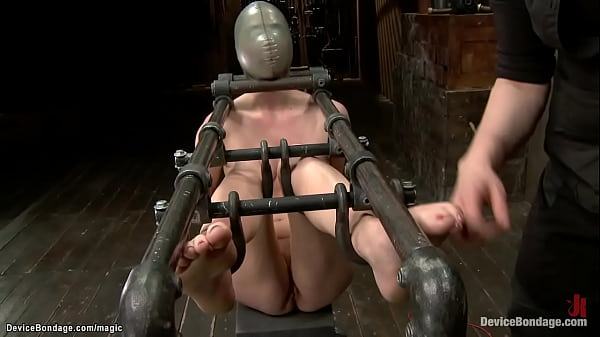 Blonde lesbian caned and flogged