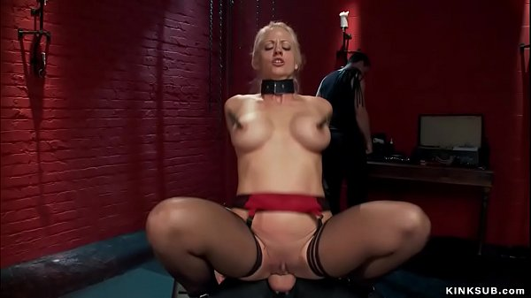 Busty bound trainee anal fucked Thumb