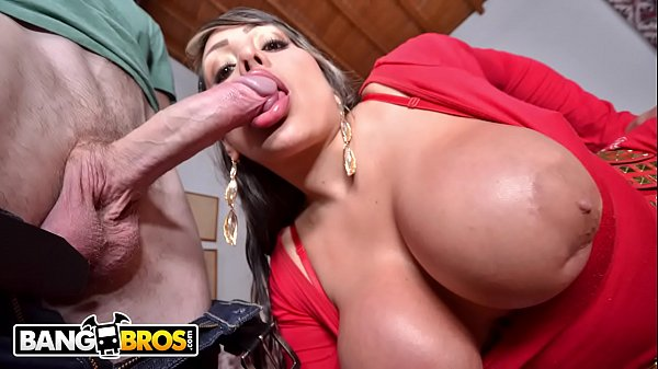 BANGBROS - Colombian MILF Sandra Gets Her Giant...
