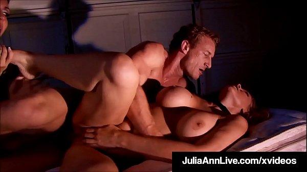 Crazy BDSM Milfs Julia Ann & Jessica Jaymes Bound & Banged!